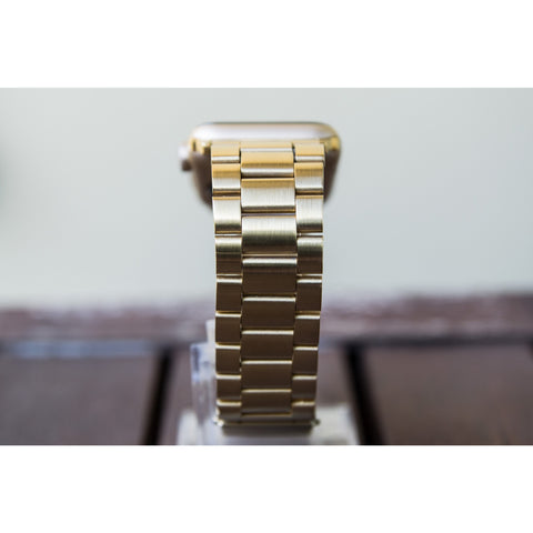 Gold Classic Stainless Steel Apple Watch Band | OzStraps
