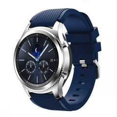 Midnight Blue Silicon Samsung Gear S3 Band | OzStraps