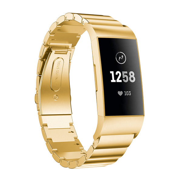 Ceramic Stainless Steel Fitbit Charge 3 / Charge 4 Bands | OzStraps