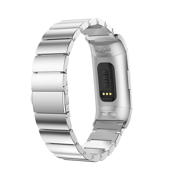 Ceramic Stainless Steel Fitbit Charge 3 Bands | OzStraps