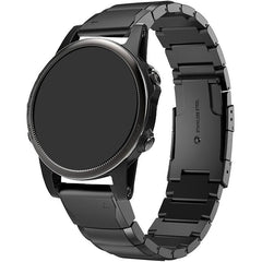 Black Ceramic Stainless Steel Garmin Fenix 5S Band | OzStraps