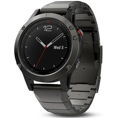 Black Ceramic Stainless Steel Garmin Fenix 5 / Fenix 6 Band | OzStraps