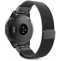 Black Milanese Loop Garmin Fenix 5S Band | OzStraps
