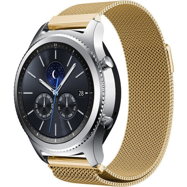 Gold Milanese Loop Samsung Gear S3 Band | OzStraps