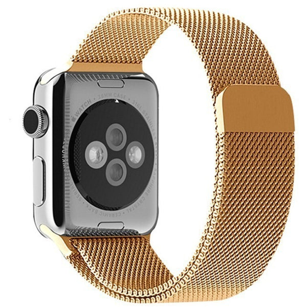 Gold Milanese Loop Apple Watch Band - OzStraps