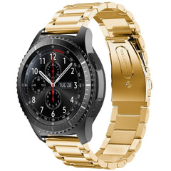Gold Stainless Steel Samsung Gear S3 Band | OzStraps