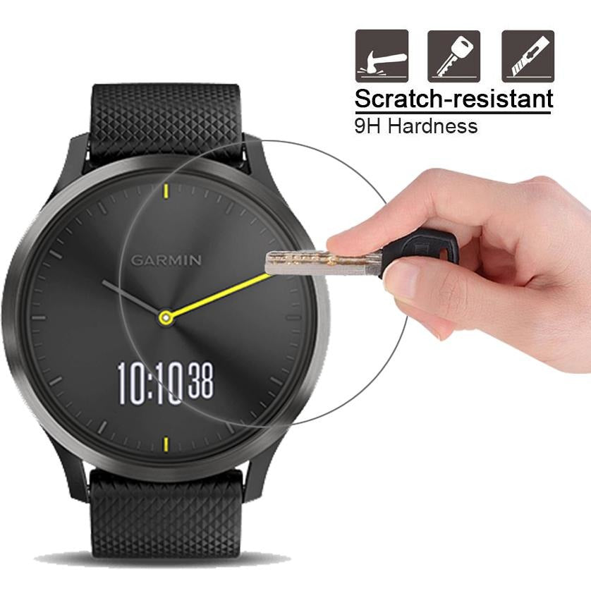 Garmin Vivomove HR Tempered Glass Protector | OzStraps