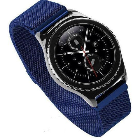 Blue Milanese Loop Samsung Gear S3 Band | OzStraps