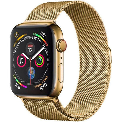 Gold Milanese Loop Apple Watch Bands Australia | OzStraps