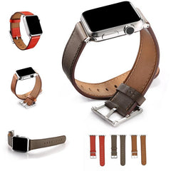 Square Buckle Leather Apple Watch Band | OzStraps