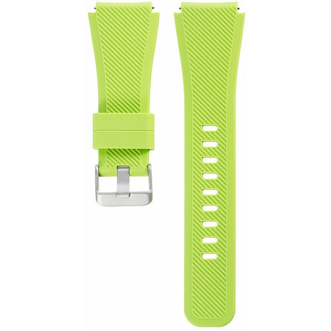 Lime Silicone Samsung Gear S3 Band | OzStraps