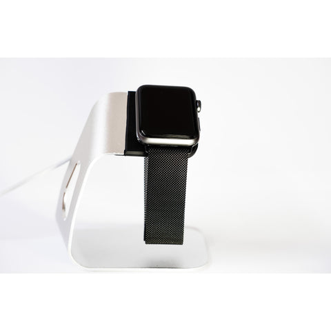 Black Milanese Loop Apple Watch Band | OzStraps