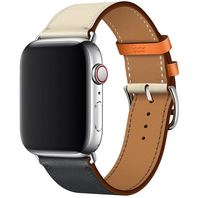 Single Tour Swift Leather Apple Watch Band - OzStraps