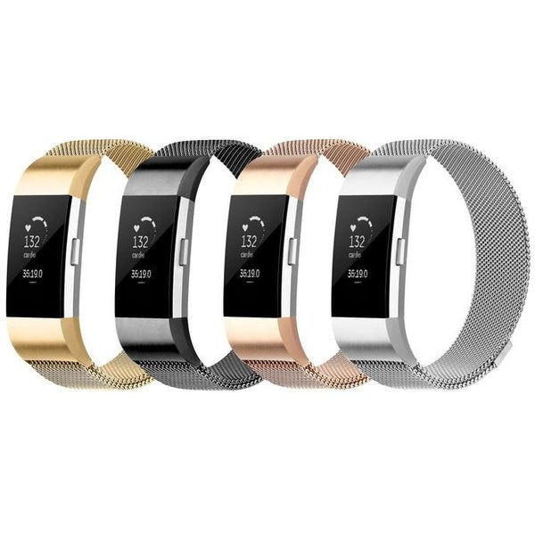 Milanese Loop Fitbit Charge 2 Bands | OzStraps