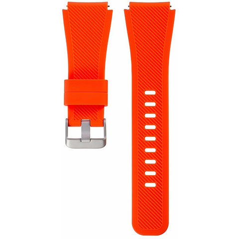 Orange Silicone Samsung Gear S3 Band | OzStraps