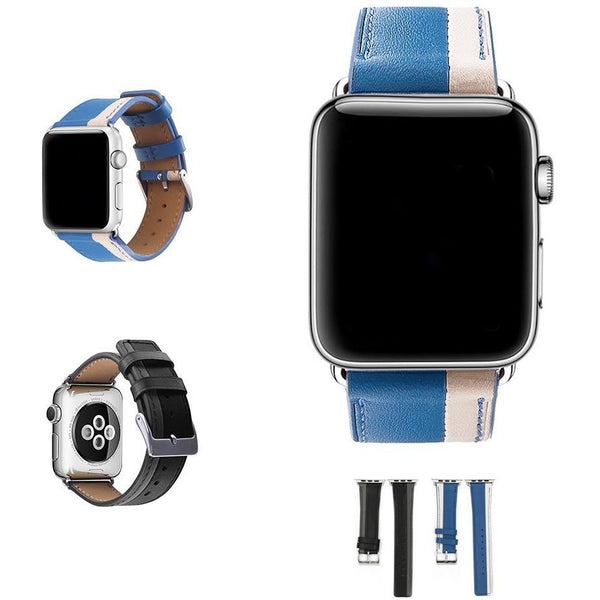 Parallel Leather Apple Watch Band | OzStraps