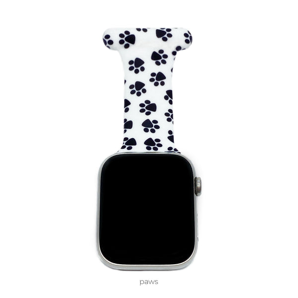 Themed Apple Watch Band Nurse Pin Fob