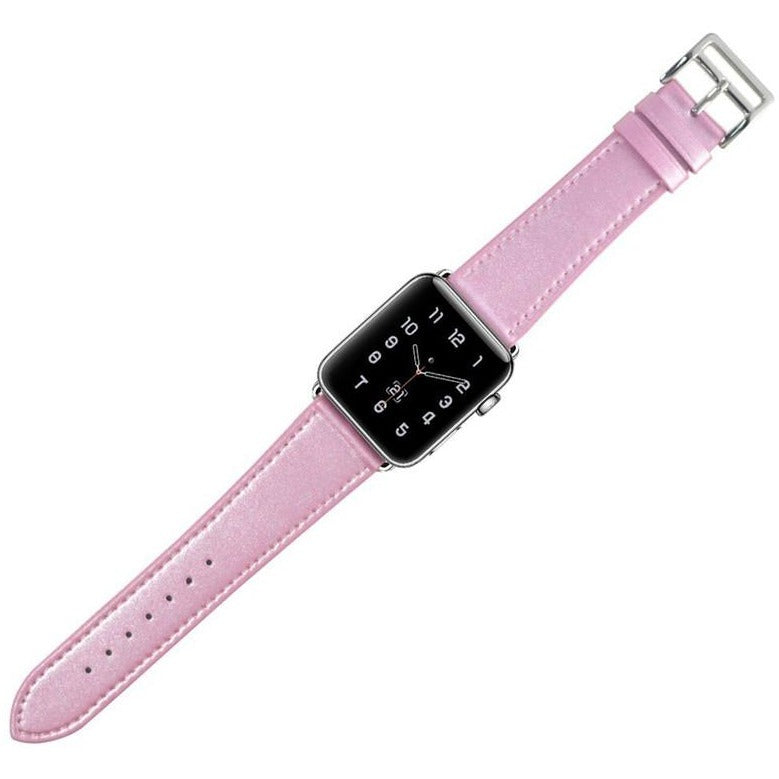 Pastel Leather Apple Watch Band - OzStraps