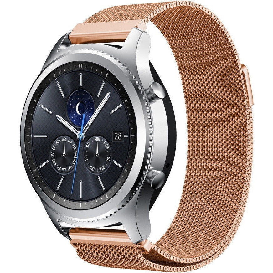 Rose Gold Milanese Loop Samsung Gear S3 Band - OzStraps
