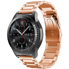Rose Gold Stainless Steel Samsung Gear S3 Band | OzStraps