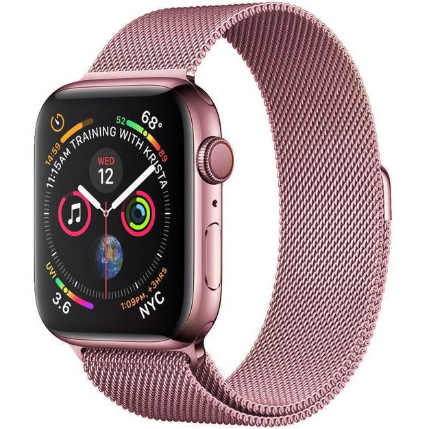 Rose Gold Milanese Loop Apple Watch Bands Australia Ozstraps