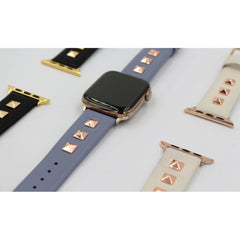 Rockstud Leather Apple Watch Band | OzStraps