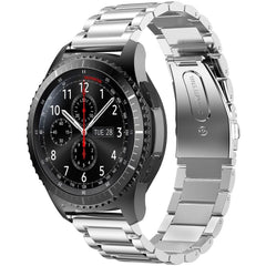 Silver Stainless Steel Samsung Gear S3 Band | OzStraps