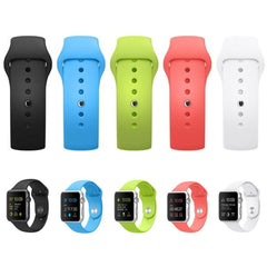 Silicone Sports Apple Watch Band | OzStraps