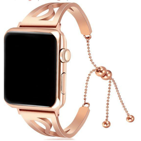 Clasp Stainless Steel Apple Watch Band - OzStraps