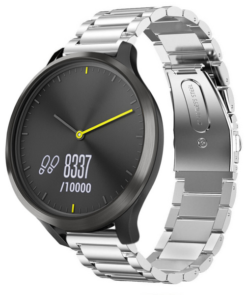 Classic Stainless Steel Garmin Vivomove HR & Vivoactive 3 Band | OzStraps