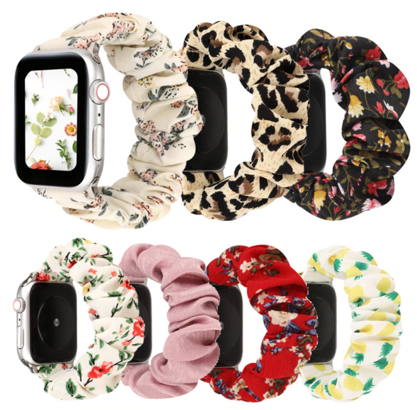 Scrunchie Elastic Apple Watch Band