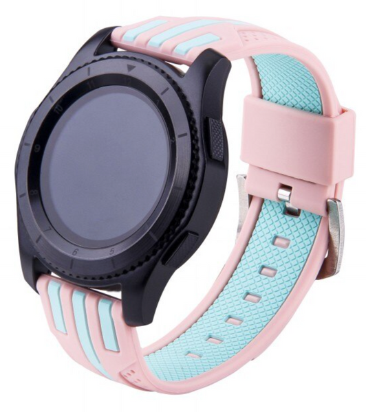 Striped Silicone Samsung Gear S3 Band | OzStraps