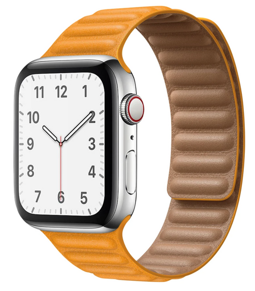 Leather Link Apple Watch Band
