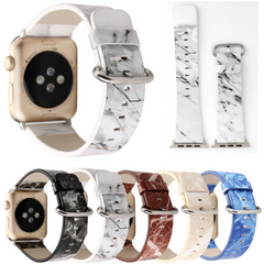 1f9abf44c Marble Leather Apple Watch Band | OzStraps ...