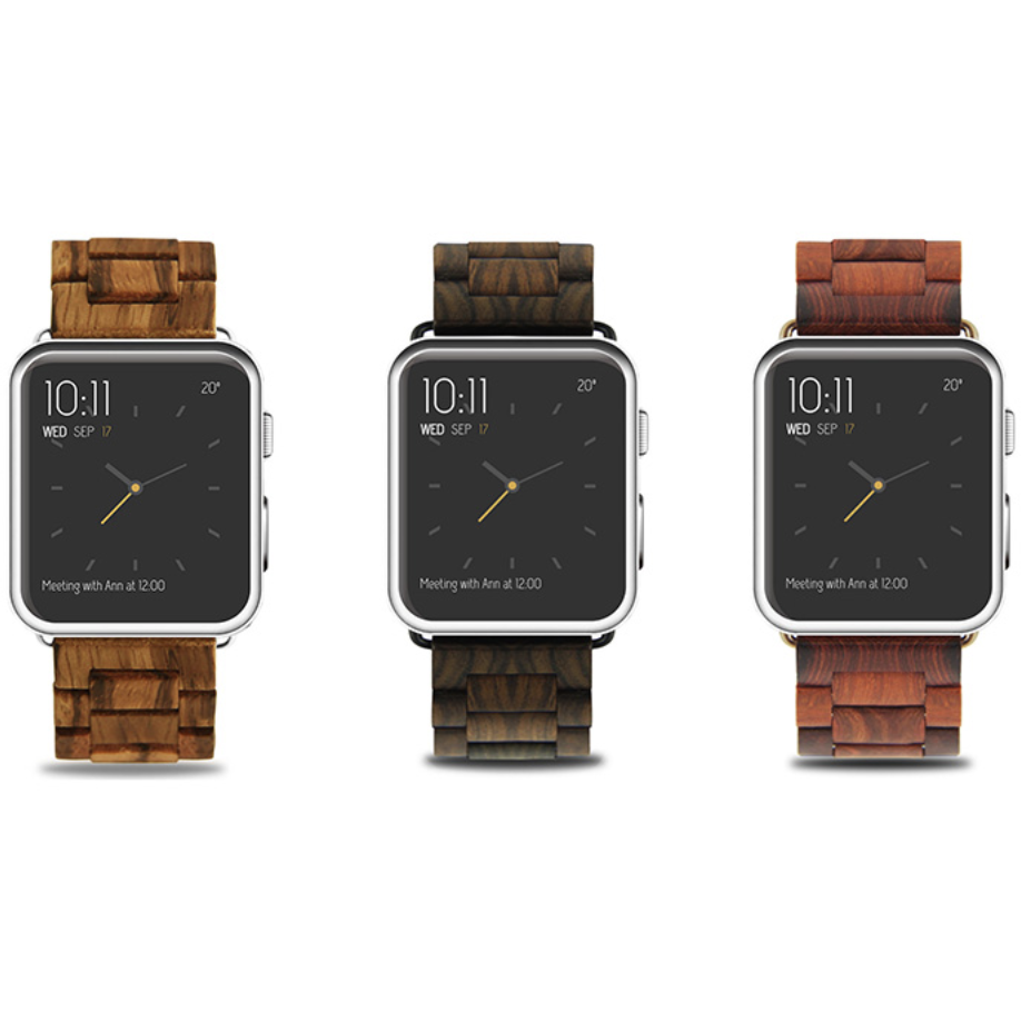 Wooden Apple Watch Band | OzStraps