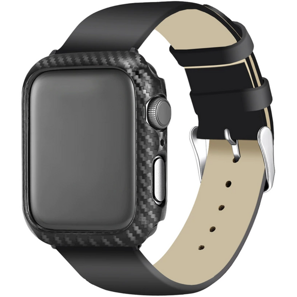 Carbon Fibre Apple Watch Case Cover | OzStraps