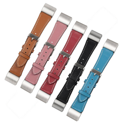 Calf Leather Fitbit Charge 2 Bands
