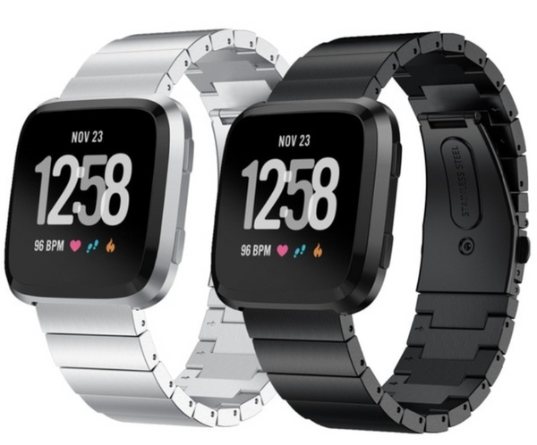Ceramic Stainless Steel Fitbit Versa Band