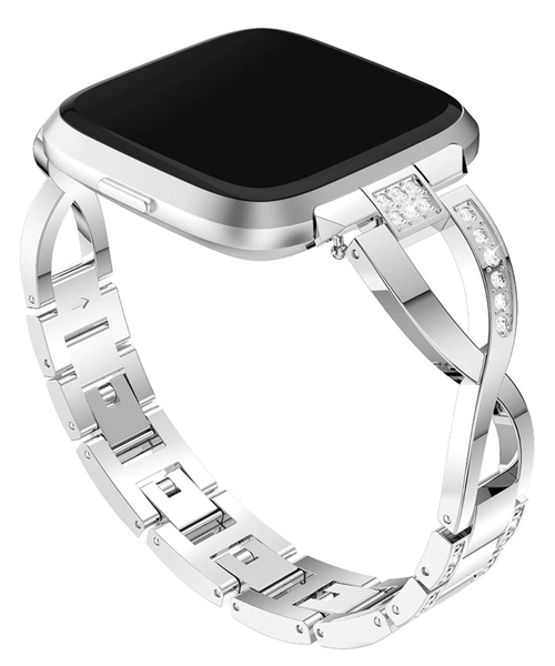 Infinity Stainless Steel Fitbit Versa Band | OzStraps