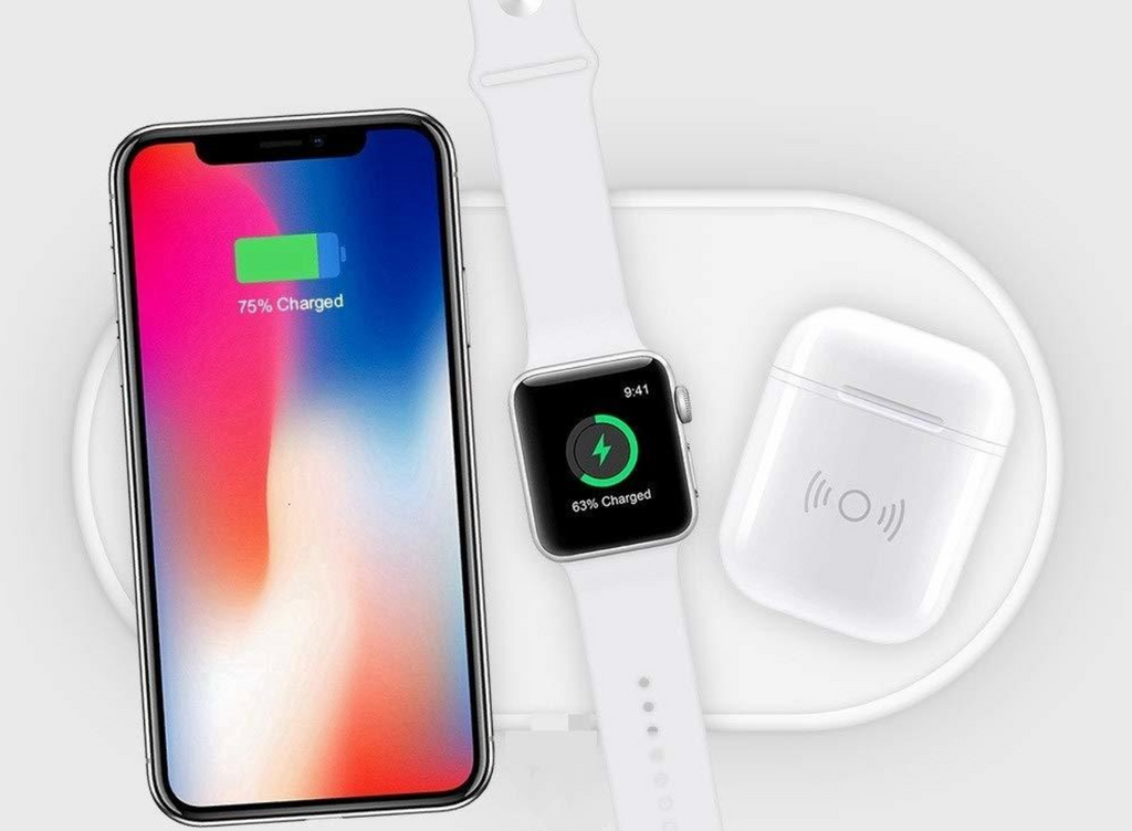 Apple Watch & iPhone & AirPods Fast Wireless Charging Pad - OzStraps