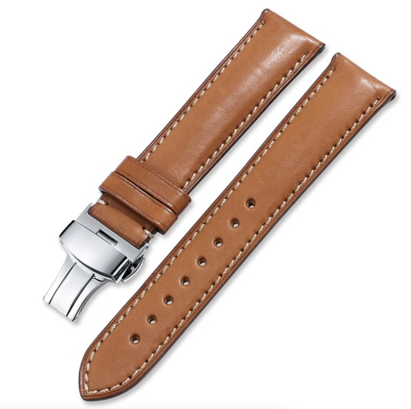 Deployant Quick Release French Calf Leather - OzStraps