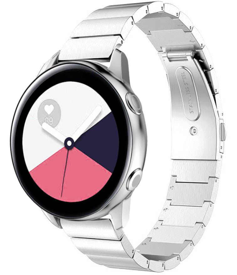 Ceramic Stainless Steel Samsung Galaxy Watch Active Band | OzStraps