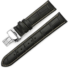The Mayfair Black (Tan) | OzStraps
