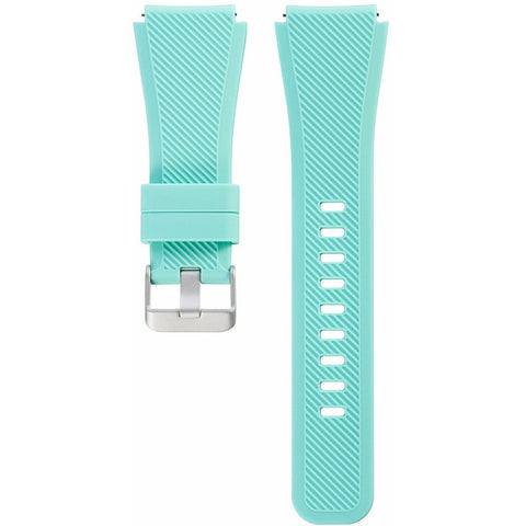 Teal Silicone Samsung Gear S3 Band | OzStraps