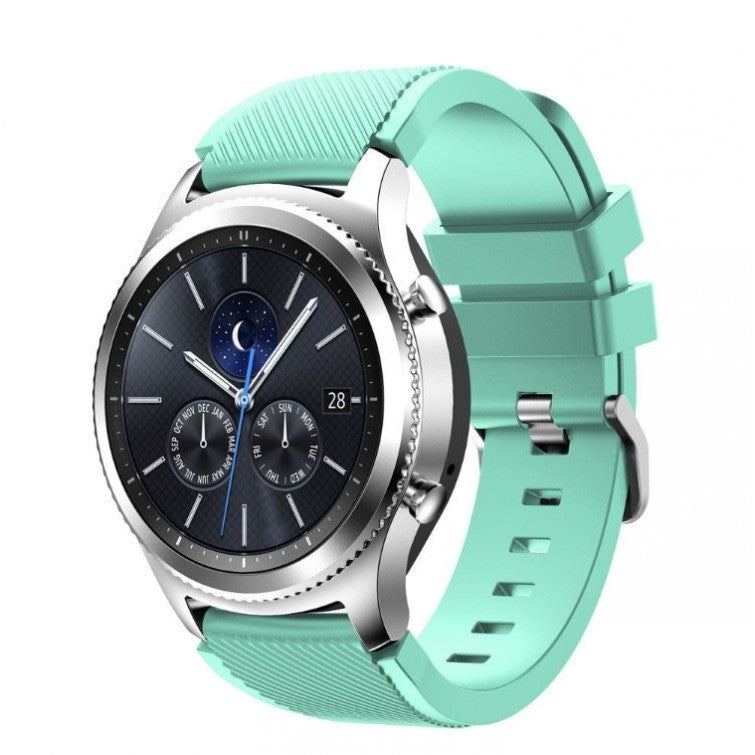 Teal Silicon Samsung Gear S3 Band | OzStraps