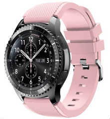 Pale Pink Silicone Samsung Gear S3 Band | OzStraps