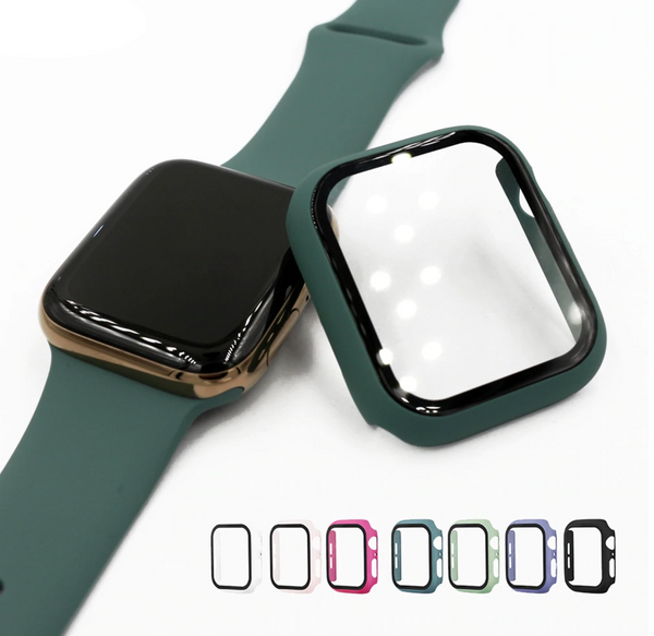 Apple Watch Hybrid Cover (Tempered Glass + Case Protector) | OzStraps