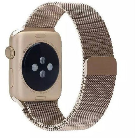 Vintage Gold Milanese Loop Apple Watch Band - OzStraps