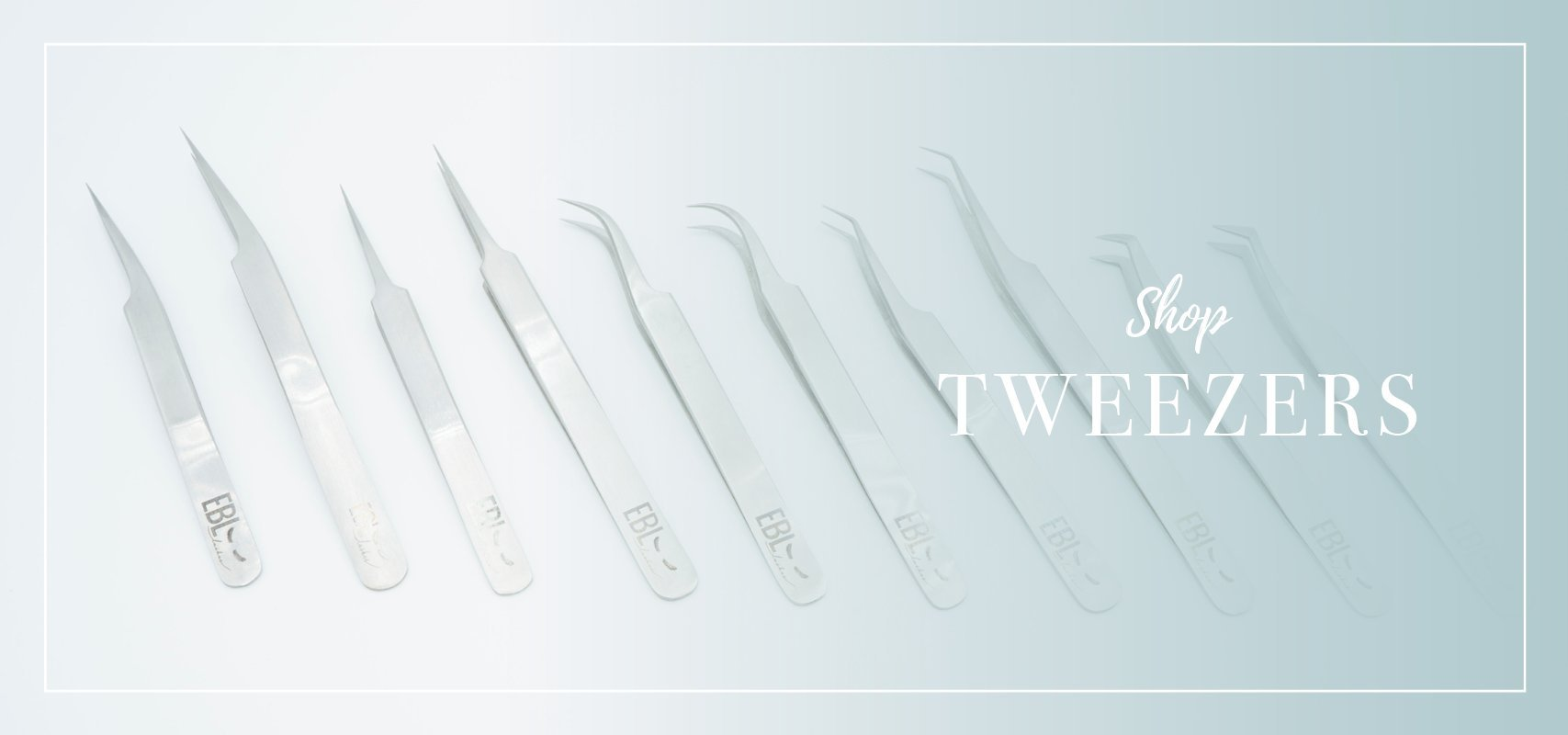 8 all new tweezers for eyelash extensions
