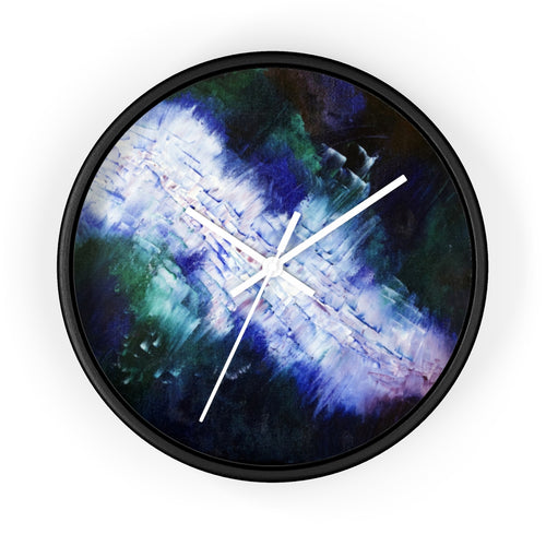 Modern Art WALL CLOCK Abstract Decor
